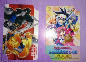 ラムネ&40 DVD-BOX テレホンカード